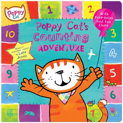 Book cover for Poppy Cat TV: Poppy Cat's Counting...